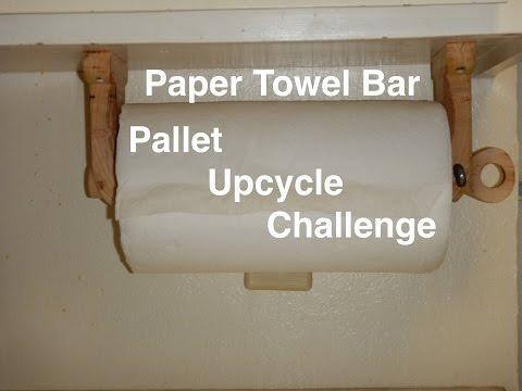 Pallet Paper Towel Holder