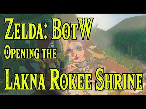 Zelda: BotW Opening The Lakna Rokee Shrine