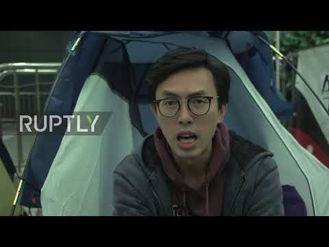 Hong Kong: Pan-democrats camp in defiance of LegCo procedural rules change