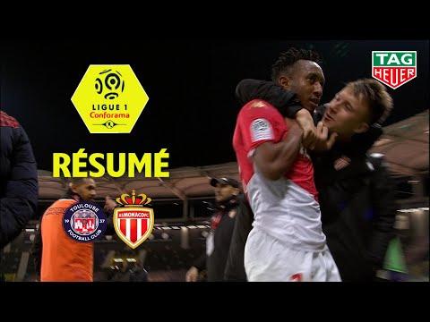 Toulouse FC - AS Monaco ( 1-2 ) - Résumé - (TFC - ASM) / 2019-20