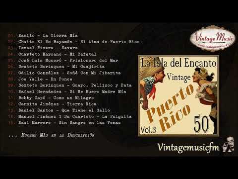 50 Canciones Vintage de Puerto Rico - Volumen #3. (Full Album/Álbum Completo) Radio Musica