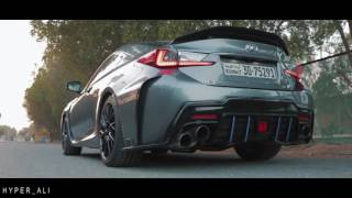 Lexus RC F w/ Armytrix Header-Back Valvetronic Exhaust - V8 Sounds!