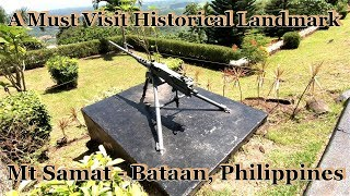 A Must Visit Historical WW2 Landmark - Mt. Samat Bataan, Philippines