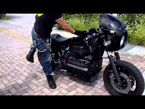 BMW  K100 改造  カフェレーサー