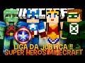 Super Heroes Ep.6 - Liga da Justiça !!