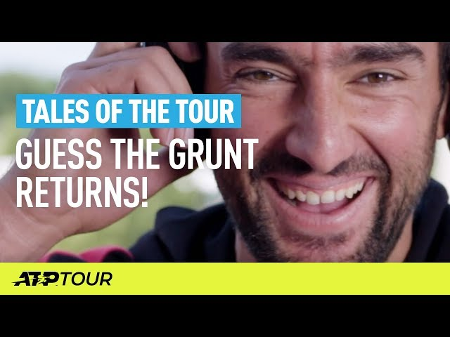 Guess The Grunt, Part 2! | TALES OF THE TOUR | ATP