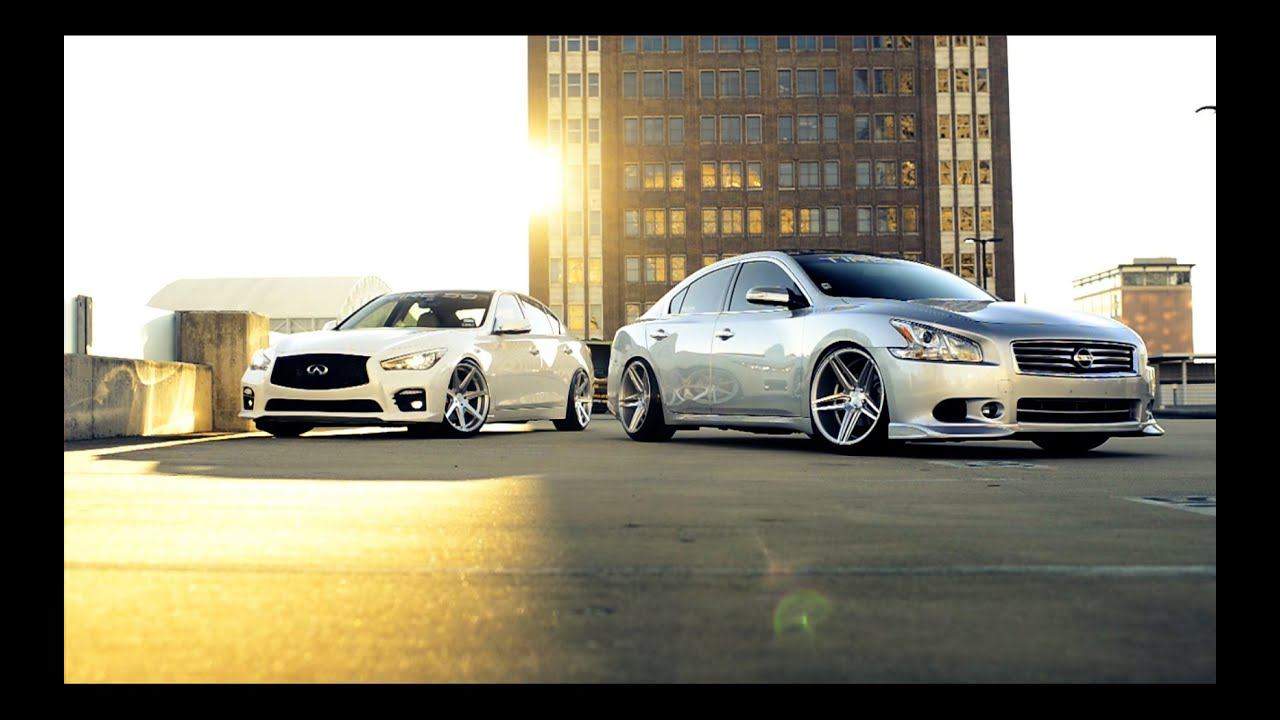 Infiniti Q50s And Nissan Maxima Sv For Tire59 And Rohana