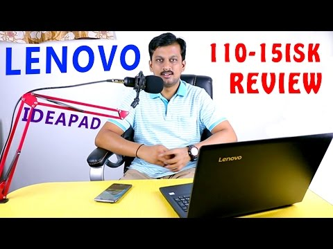 Lenovo Ideapad 110 15ISK Laptop Core i3 6100U - Review | Better than other laptops under Rs.30,000