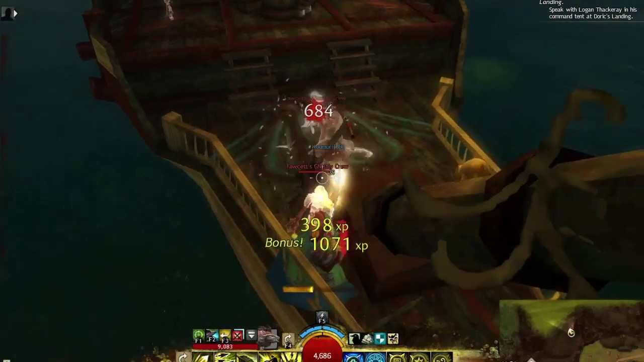 Guild Wars 2 - Fawcett\'s Bounty jumping puzzle - Arca Lake ...
