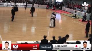 (KOR8)J.JO -MM H.NISHIMURA(JPN6) - 16th World Kendo Championships - Men's Individual_5R