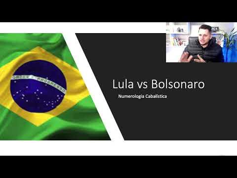 Lula vs Bolsonaro numerologia cabalística