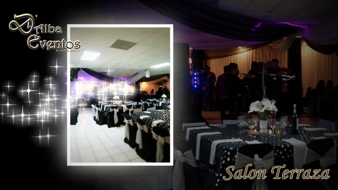 Salones D Alba Salón Terraza