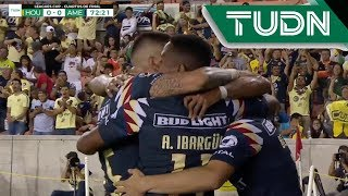 Gol de Nicolás Benedetti | Dynamo 0 - 1 América | Leagues Cup - TUDN