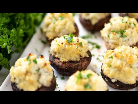 How To Make Easy Crab Stuffed Mushrooms
