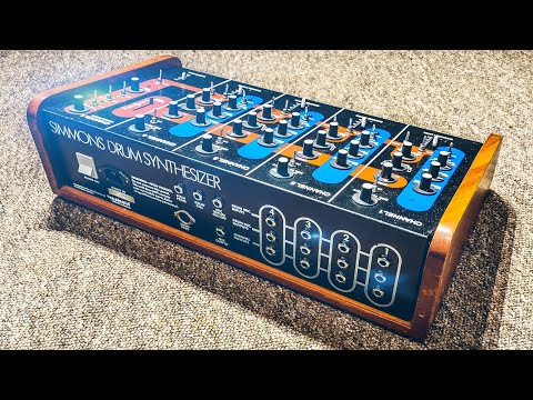Origins of a Legend - The Simmons SDS-3 Drum Synthesizer from 1978