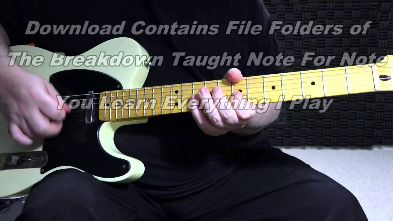 Ali Baba Guitar Lesson Demo Backing Track Youtube