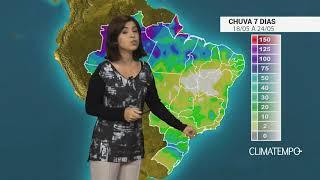 Como fica a chuva no Brasil nos próximos dias