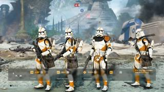 Скачать Commander Cody And The 212th Attack Battalion Defend Kashyyyk Star Wars Battlefront 2