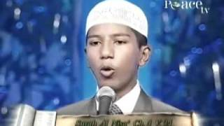 Peace TV  -  Boy says  wonderful speeches about Islam-FARIQ NAIk