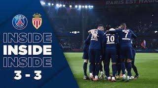 VIDEO: INSIDE : PARIS SAINT-GERMAIN vs AS MONACO