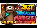 2b2t TOROGADUDE RAIDS OUR BASE NEW BASE TOUR 2b2t Server OLDEST SERVER IN MINECRAFT