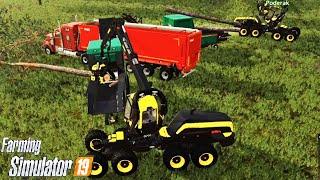 #49 - DOPPIA SCORPIONKING CON PODERAK E ROBYMEL81 -  FARMING SIMULATOR 19 ITA RUSTIC ACRES