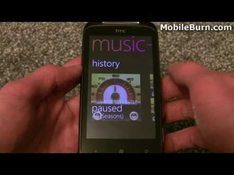 HTC 7 Mozart (Windows Phone 7) review - part 2 of 2