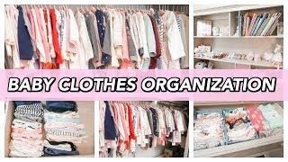 KONMARI METHOD | BABY CLOTHES ORGANIZATION | LIFE OF MADDY