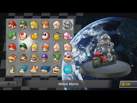 Get All 30 Selectable Characters (W/ Voices) in Mario Kart 8 Screenshots