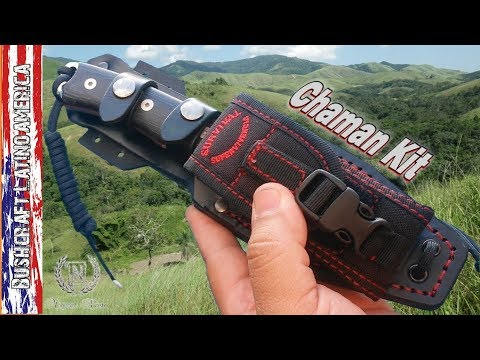 Survival Knife Chaman kit - (English Version)