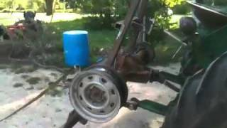 Homemade skidding winch part 1