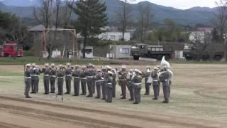 陸上自衛隊 日本原駐屯地 大序曲 1812年 チャイコフスキー 創設51周年...