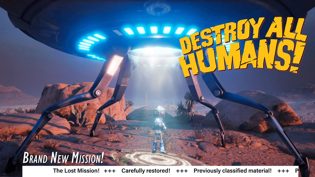 DESTROY ALL HUMANS - Lost Mission Teaser