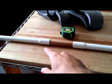Simple PVC Bow with Wood Handle/Riser