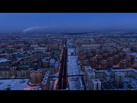 Тюмень. Развязка Монтажников-Федюнинского
