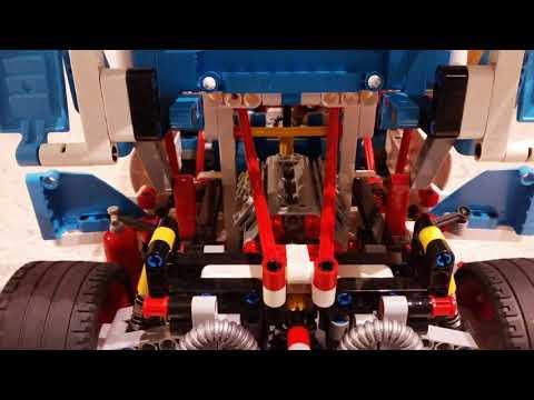 Lego Technik Rallyeauto 42077 - Stop Motion (1271 Bilder)