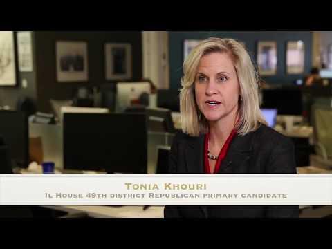 Tonia Khouri, Illinois House 49th district Republican primary candidate