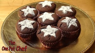 Chocolate Spice Cupcakes | One Pot Chef