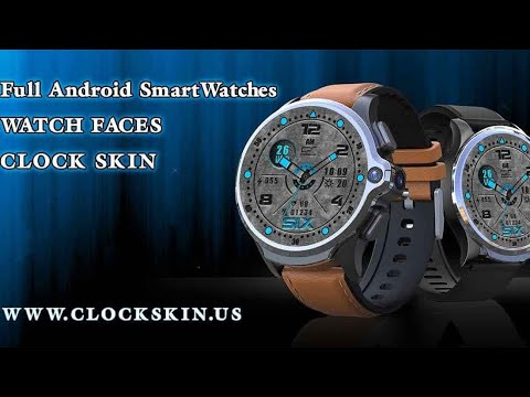 interactive watch faces, for full android watch