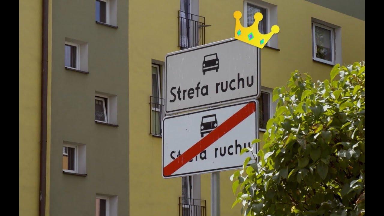 Zobacz najkrótszą strefę ruchu w Polsce! #Absurdy_Drogowe