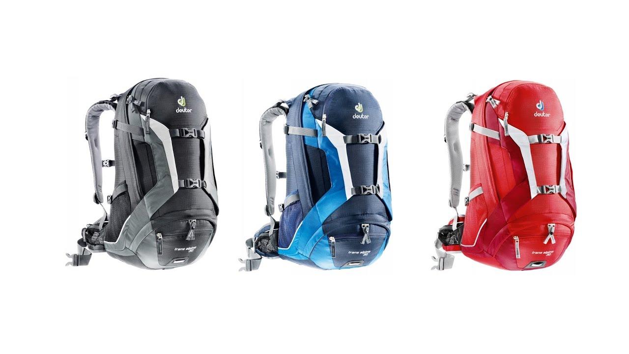 2138192c30 Deuter trans alpine 30 backpack - YouTube