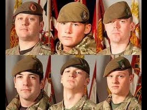 Six Brothers Fallen - A Tribute to the Six young men who died together in a Warrior Armoured Vehicle