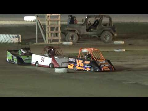 MINI WEDGE FEATURE #2 at Mt. Pleasant Speedway, Michigan on 08-04-2017.