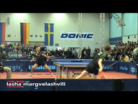 Timo Boll vs Liam Pitchford (Energis Masters 2009)