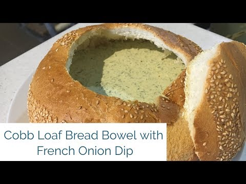 Spinach And French Onion Cobb Loaf