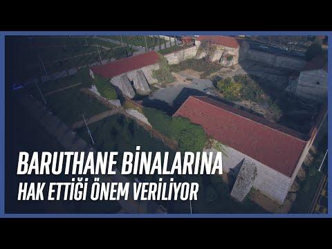 İstanbul Büyükşehir Belediyesi Bakırköy Baruthane Binalarında Restorasyon Çalışmalarına Başlıyor
