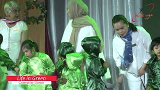 HOPE Qatar: 14th Annual Day 2020: Caterpillar Dance - Life in green