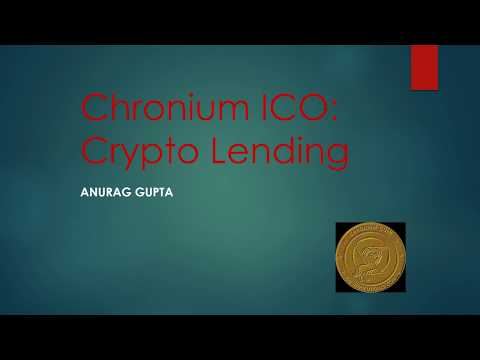 Chronium ICO Review and Price Forecast