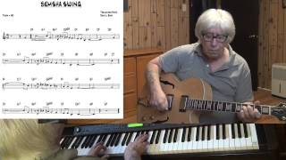 Bemsha Swing - Jazz guitar & piano cover - Yvan Jacques