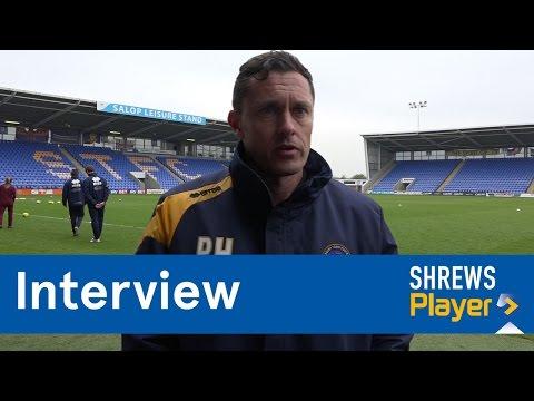 INTERVIEW | Paul Hurst pre Bristol Rovers (A) - Town TV